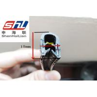 China Car Automotive Rubber Seals Strip With Metal Clip , Auto Weather Seal wholesale
