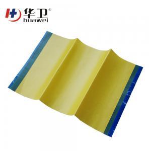 China Transparent adhesive WPU iodine surgical Iodine incise dressing wholesale