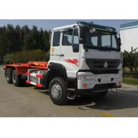 China Carriage Removable Garbage Collection Truck SINOTRUK 25CBM 6X4 LHD on sale