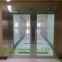 China 304 Stainless steel fire proof emergency exit glass door For Sale wholesale