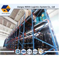 China Cold Rolled Steel Shuttle Pallet Racking Durable Electrostatic radio shuttle racking wholesale