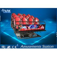 China Horrible Movies 5D Simulator Ride Dynamic Motion Platform With Simplest Structure wholesale