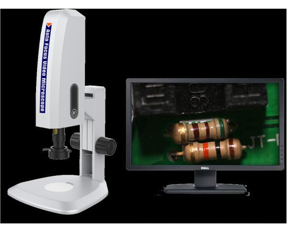 Quality Microscopio video VideoScope-AF20600 del foco auto del FEMA HD for sale