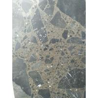 China Maron Emperador Dark Quartz Stone Tiles Recyclable Feature Eco - Friendly wholesale