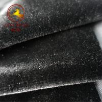 China Wholesale ice flower velour fabric for women and home textile wholesale