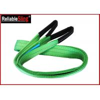 China CE GS Approved Color Code Lifting Sling  Flat Webbing Sling Belt wholesale