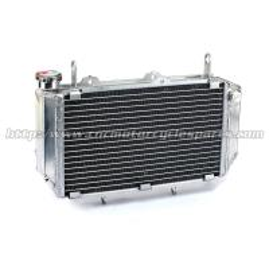 China Quad Bike Parts ATV Radiators With Gaps For YAMAHA YFZ450 YFZ450R YFZ 450/450R wholesale