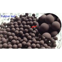 China 20MM Valves / Bearings Silicone Rubber Ball 70 Shore High Temprature Resistant on sale