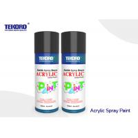 China Various Colors Acrylic Spray Paint Fast Drying For Plastic And Metal Garden Accessories wholesale