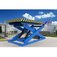 Buy cheap Electric Or Manual Fixed Hydraulic Table Lift With Fixed Loading / Unloading Platform from wholesalers
