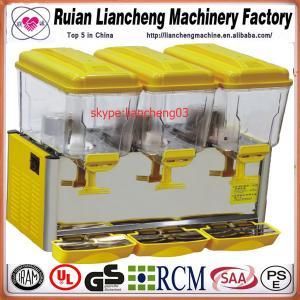 China 110/220V 50/60Hz spray or stirring European or American plug orange juice dispenser wholesale