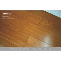 China Natural E0 TEAK Solid Wood Flooring  with 1155 psi Janka Hardness on sale