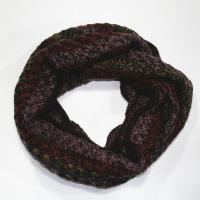 Buy cheap 100% acrylic knitting neck scarf in stripes from wholesalers