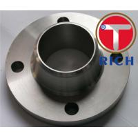 China Forging Weld Neck Flange Asme B16.5 Standard Dn10 - Dn800 For Connection wholesale