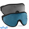 China Breathable Memory Foam Eye Mask For Nap / Travel 3D Modern Design wholesale