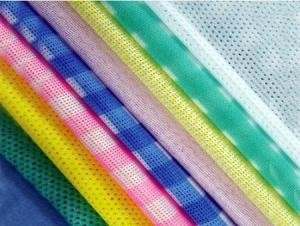Quality spunlace nonwoven fabric for wiping material for sale