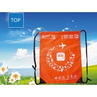 Polyester Sport Drawstring Backpack Recycled Casual Outdoor Traveling
