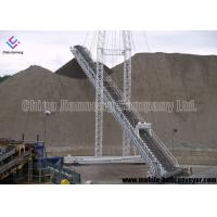 China Oil Resistant Mobile Conveyor System , Long Distance Transmission Portable Conveyor Systems wholesale