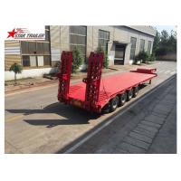 China Long Haul Freight Transport Extendable Semi Trailer With Q345B Steel Structure wholesale