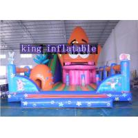 Buy cheap PVC Colorful Inflatable Amusement Park With Slide For Children And Adults from wholesalers