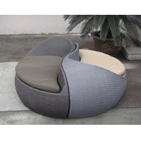 China Grey Fashion Comfortable Outdoor Rattan Daybed For Beach / Pool wholesale