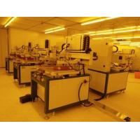 China High Precision PCB screen printing machine with Guide Rail Equipped on sale