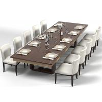 China Modern Wood Commercial Restaurant Furniture With Dining Room Chairs High Grade on sale