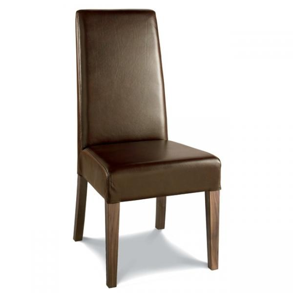 Wood chair seats images for Wood dining chairs with leather seats