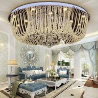 China Round Crystal ceiling mount light fixture For indoor home Lighting Fixtures (WH-CA-11) on sale