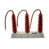 Overvoltage Protection Distribution Surge Arrester Unique Polymeric Housing