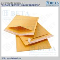 China BETA Golden Kraft Bubble Mailer #0 Ecolite Mailers With Strong Adhesive Tape for sale