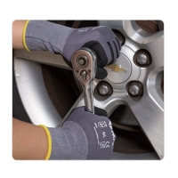 China Nitrile Palm Mechanic Work Gloves on sale