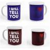 China Heat Sensitive Reusable Coffee Cup Custom Magic Mug White AB Grade wholesale