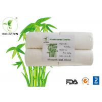 China White Soft Bamboo Charcoal Nappies , Gentle Bamboo Disposable Nappy Liners wholesale
