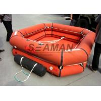 4 / 6 / 8 Person Inflatable Raft Leisure Inflatable Liferaft For Emergency