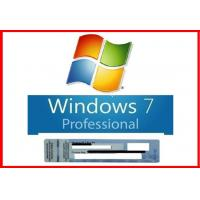 China New Sealed Microsoft Windows 7 Pro Professional 64 Bit DVD+100% Original COA License Key on sale