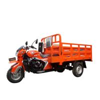 4 Stroke Three Wheel Cargo Motorcycle / 200CC Cargo Tricycle RWD Drive.