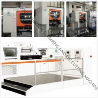 China EcooGraphix Post-press Automatic Foil Stamping Die Cutter wholesale