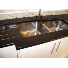 China Bullnose Edge Natural Granite Slabs For Kitchen Countertops , 2CM Thick wholesale