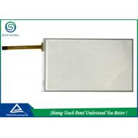 China Laptop 5 Inch Resistive Touch Screen Overlay 4 Wire Analog Film Glass Structure wholesale