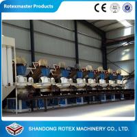China Complete wood pellet production line , wood pellet making machine large capacity wholesale