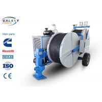China 7500kg Transmission Line Equipment Max Continuous Tension 2X70KN Hydraulic Laying Tensioner wholesale