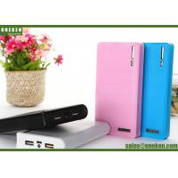 China Wallet 18650 Power Bank 60000mAh / 12000mAh With Built - In Smart Chip wholesale