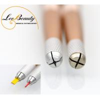 2 Head  Multifunctional Metal Handle Microblading Tools for Tattoo Embroidery