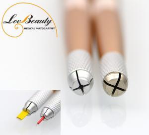 China 2 ferramentas multifuncionais principais de Microblading do punho do metal para o bordado da tatuagem wholesale