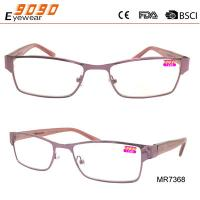 Lady fashionable reading glasses , made of mental, Power rang : 1.00 to 4.00D