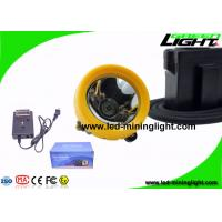 China 7.8Ah 10000 Lux Anti Explosive Underground Mining Cap Lamp with Cable OEM ODM Service on sale