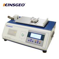 China Digital Display Plastic Film Sheet Static Coefficient Friction Tester with Curve on sale