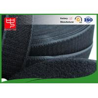 50Mm Wide Black Hook And Loop Tape / Male And Female Hook And Loop Roll Fastening