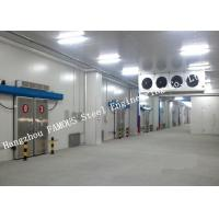 China Commercial PU Sandwich Cold Room Panel Walk In Freezer For Meat And Fish Storage wholesale
